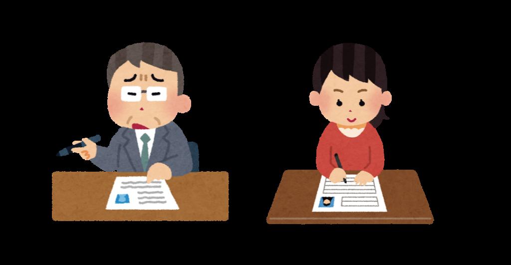 求職者と採用担当者