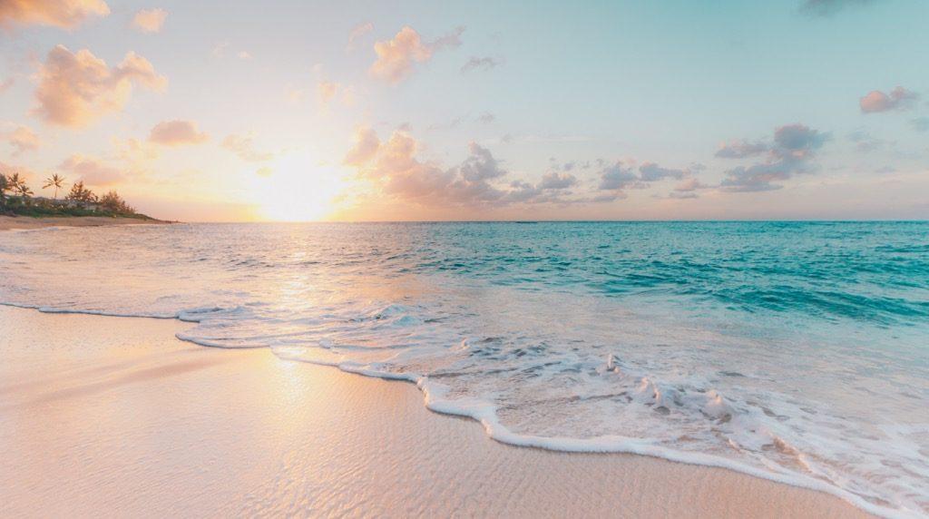 夏のビーチリゾート