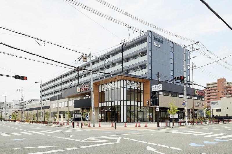 大阪のソーシャルアパートメントターミナルズ茨木の外観