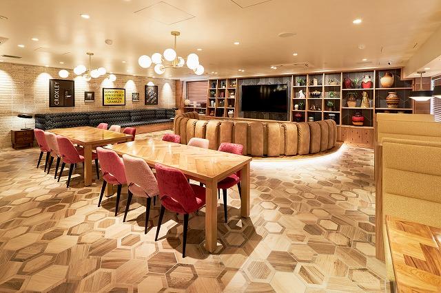 大阪のソーシャルアパートメントターミナルズ茨木の共有スペース